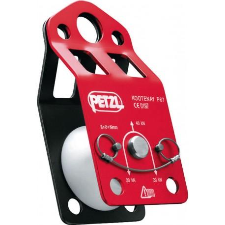 P67 / KOOTENAY  Knot-passing pulley PETZL