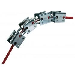 PETZL ROLL MODULE  Articulated protector with rollers