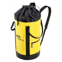 PETZL BUCKET  Fabric pack, remains upright