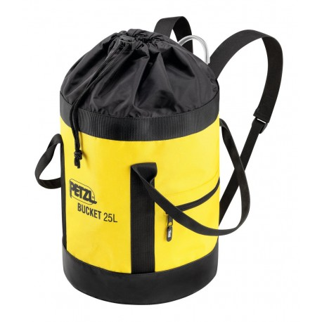 S41AY 025 / BUCKET  Fabric pack, remains upright PETZL