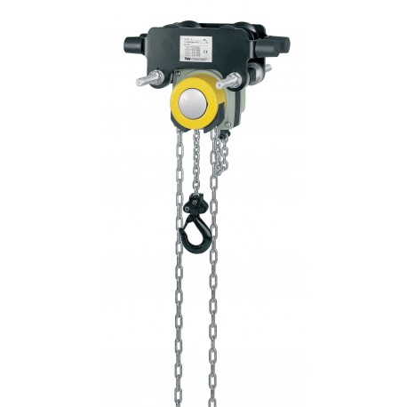 Yalelift IT Hand chain hoist with integrated push or geared type trolley
