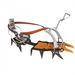 LYNX® Modular crampon for ice and mixed climbing, with LEVERLOCK UNIVERSEL bindings PETZL