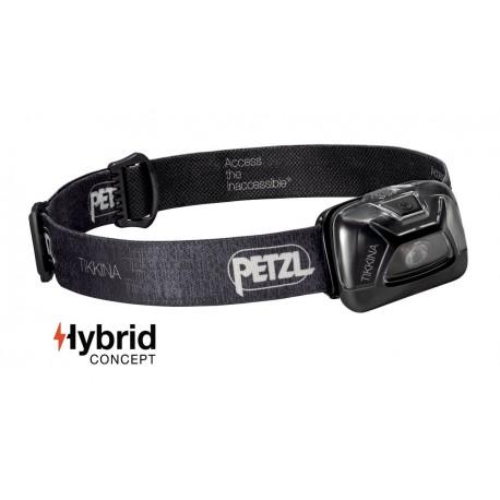 E91ABA / TIKKINA  Simple, compact headlamp for proximity lighting. 80 lumens PETZL