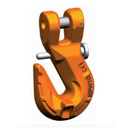 KPSW / PEWAG KPSW Clevis grab hook with safety catch