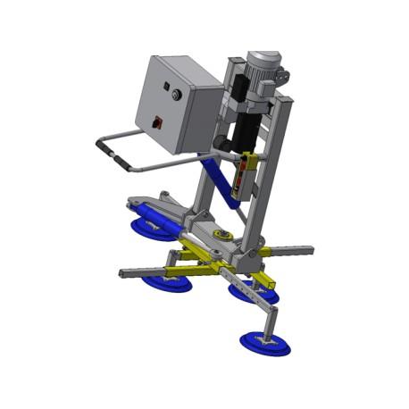 Vákuový uchopovač VM 400/4 - 90°- 90°/HYD