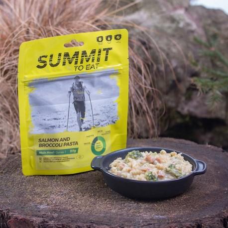 806100 / SUMMIT TO EAT Losos s brokolicou a cestovinami