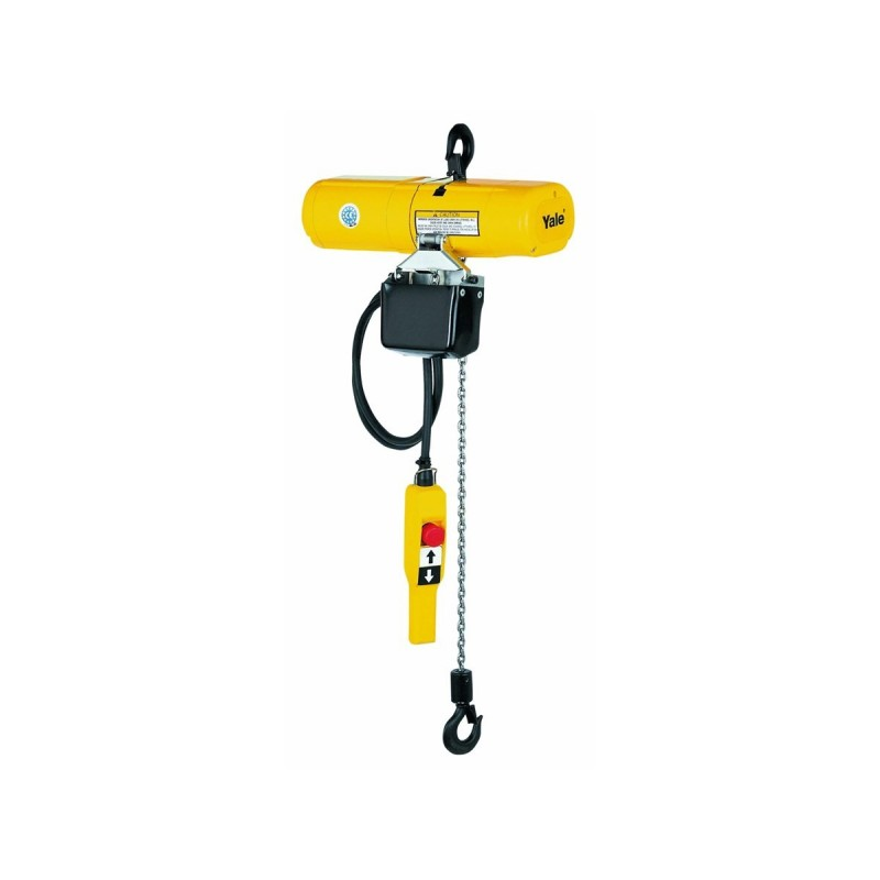 Electric Chain Hoist With Hook: YALE CPS Electric Chain Hoist With Supension Hook