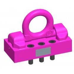 VRBG 31,5/50/150 - Load ring on plate for bolting - RUD