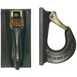 VCGH-S Excavator hooks, ready for welding - RUD
