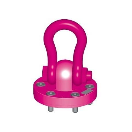 WBPG Hoist ring on plate for bolting - RUD