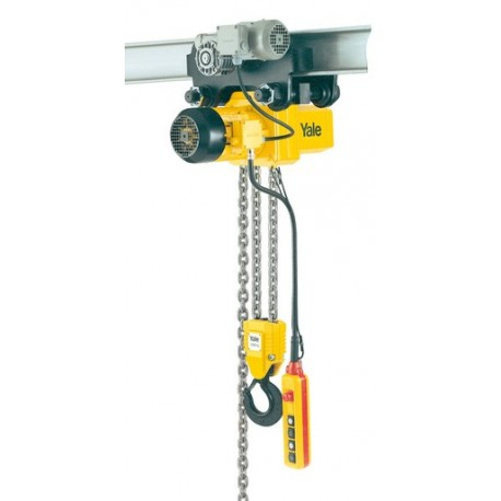CPE Electric chain hoist with suspension hook or with integrated trolley YALE
