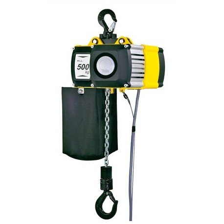 CPV Electric chain hoist with suspension lug or with integrated trolley YALE
