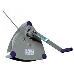 SW-W ALPHA Wall-mounted winch PFAFF silberblau