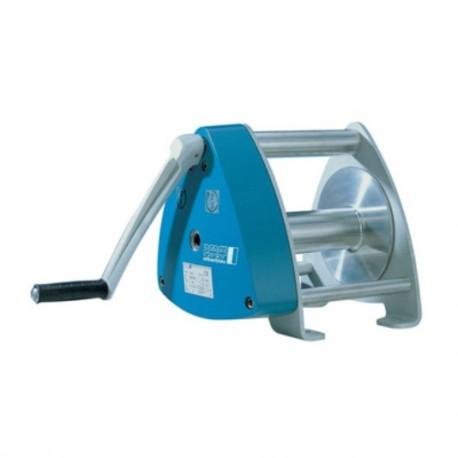 SW-K GAMMA Console-mounted aluminium rope winch PFAFF silberblau