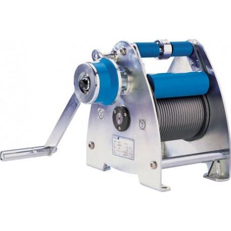 SW-K LAMBDA Console-mounted rope winch PFAFF silberblau
