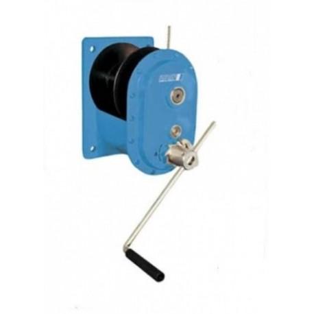 MWS Handseilwinde mit Stirnradgetriebe PFAFF silberblau