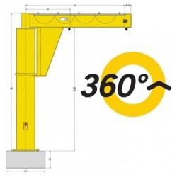 YALE PFP Floor-mounted jib crane