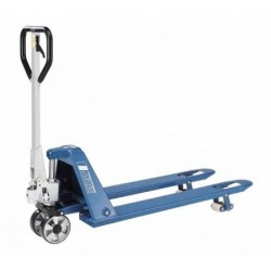 HU 15-115 FTP PROLINE  Hand pallet truck with low height forks PFAFF silberblau