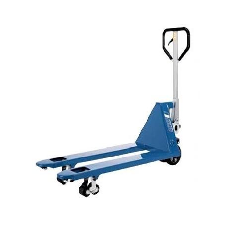 PROLINE Handgabelhubwagen  mit kurzen Gabeln PFAFF silberblau