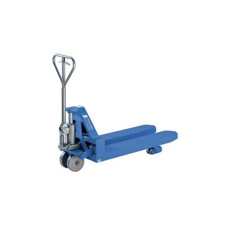 PROLINE Hand pallet truck for heavy loads PFAFF silberblau