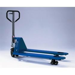 PROLINE HU 20-115 QLTP  Handgabelhubwagen mit Schnellhub PFAFF silberblau