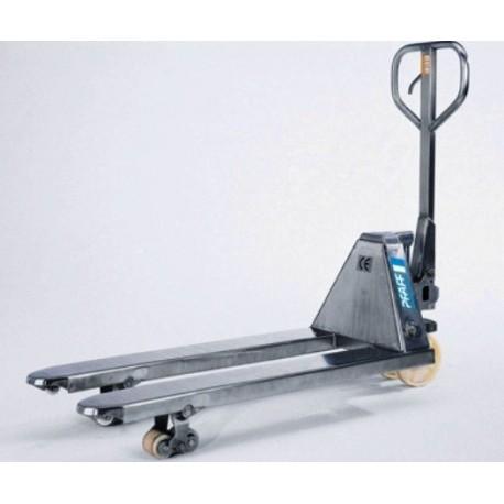 HU 25-115 VATP PROLINE ručný paletový vozík v nerezovom prevedení PFAFF silberblau