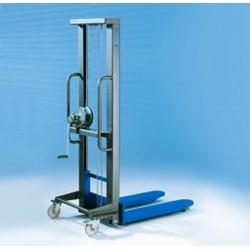 HG ručný vysokozdvižný vozík PFAFF silberblau
