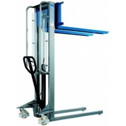 HV 0516 Manual drive stacker with manual-hydraulic lift  PFAFF silberblau