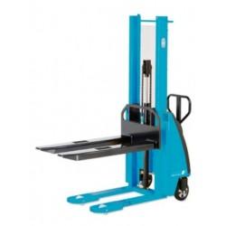 EHH PS ručný vysokozdvižný paletový vozík s elektro-hydraulickým zdvihom PFAFF silberblau