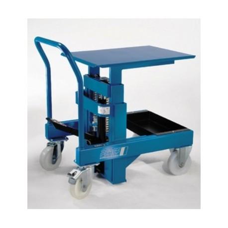 HW Mobile elevating work bench PFAFF silberblau