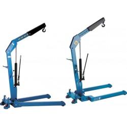 HWK KL S SILVERLINE Hydraulic workshop crane  PFAFF silberblau